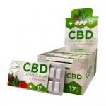 CBD Strawberry Cannabis Chewing Gums